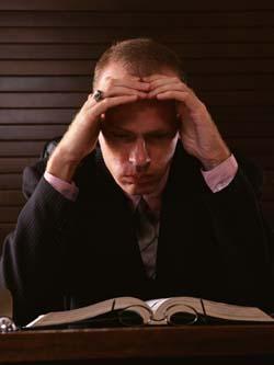 Stress und zuviel Arbeit